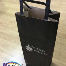Bolsa de papel de Multigas Asesores