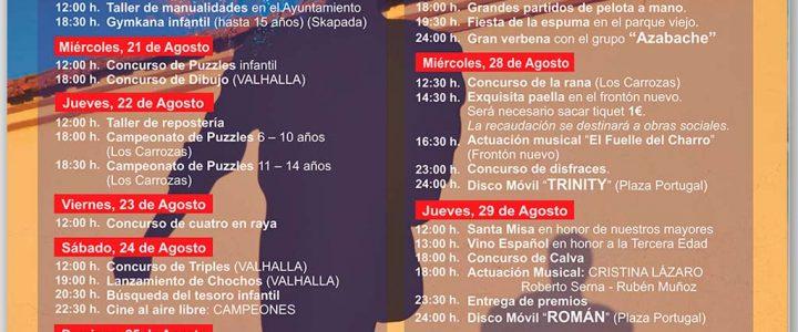 Cartel de Fiestas de El Pedroso