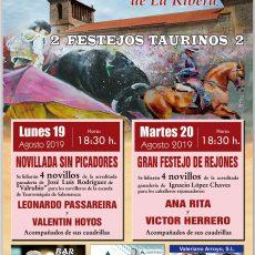 Cartel de toros para Masueco 2019