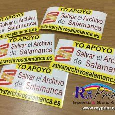 Pegatinas para exterior de Salvar al Archivo