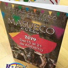 Libro de fiestas de Masueco 2019