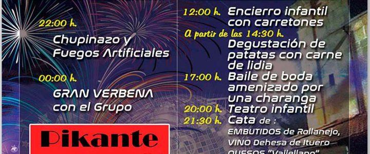 Cartel de fiestas de El Cubo de Don Sancho 2019