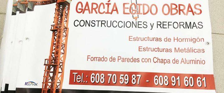 Lonas para García Egido Obras